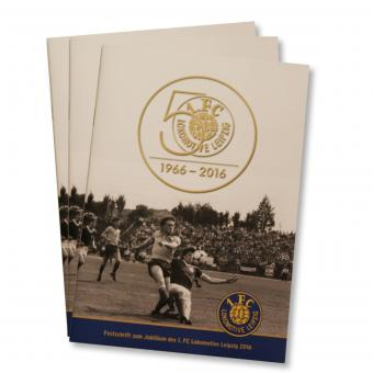 "Offizielle Festschrift ""50 Jahre 1. FC Lok"""