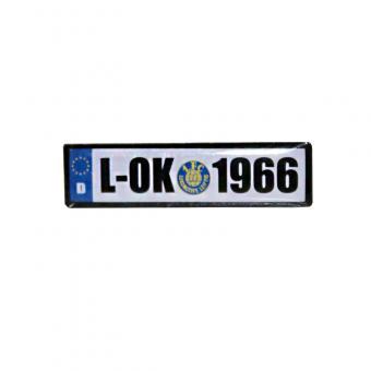 Pin Nummernschild