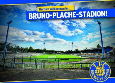Lok-Postkarten Bruno-Plache-Stadion