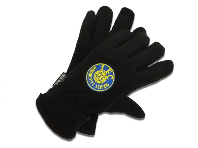 "Fleece-Handschuhe ""Logo"" schwarz"