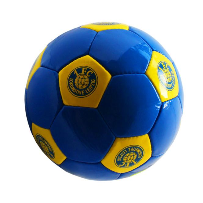 Fußball blau-gelb