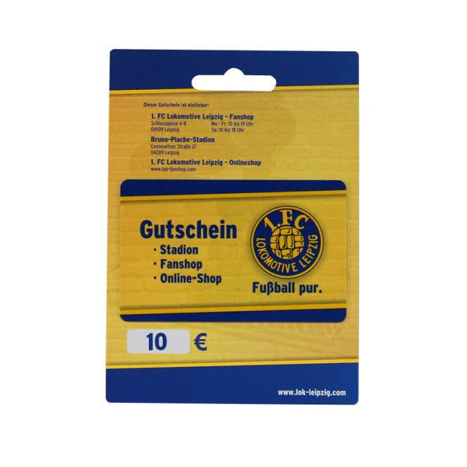 Gutschein 10,00 Euro