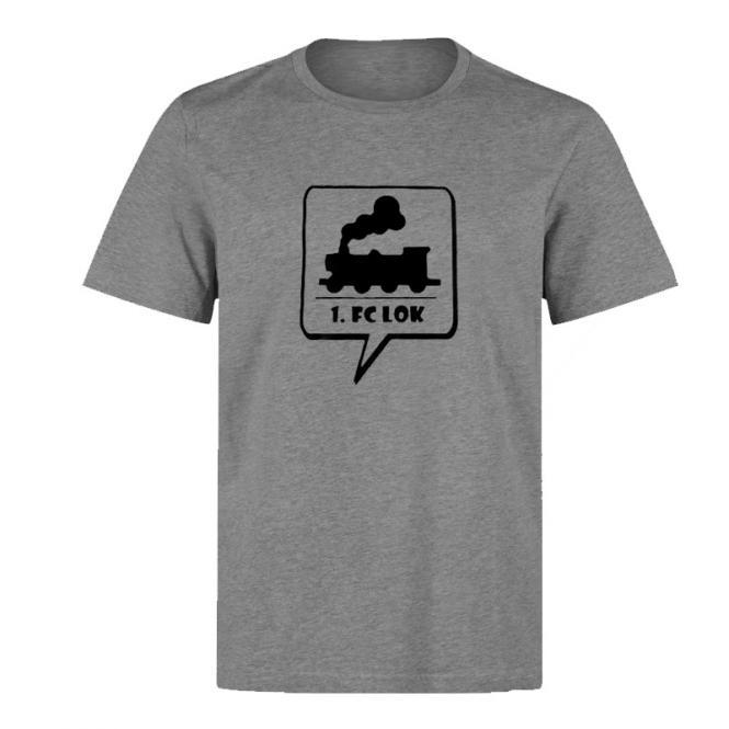 """Kinder T-Shirt """"Eisenbahn"""" grau"""