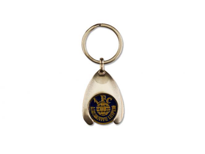 Schlüsselanhänger & Einkaufswagenchip Edelstahl