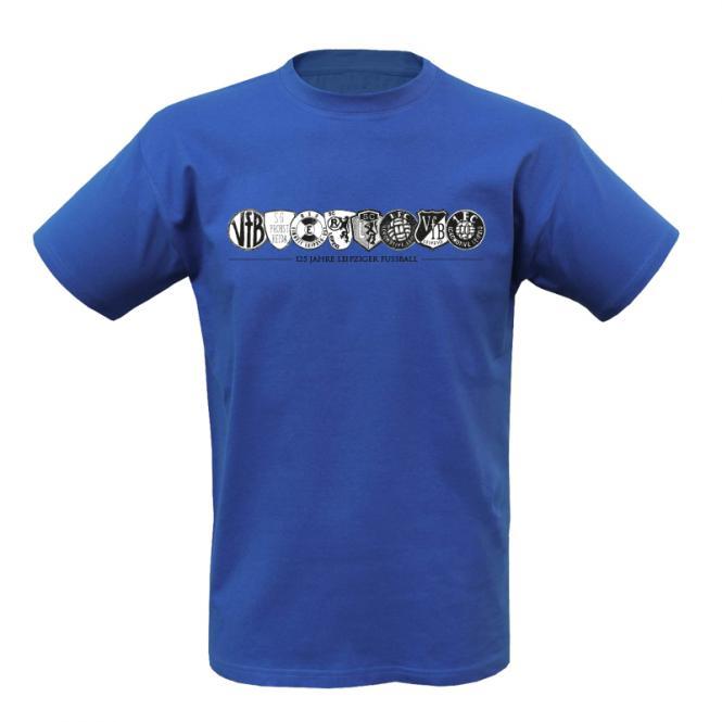"""T-Shirt """"125 Jahre Leipziger Fussball"""" M"""