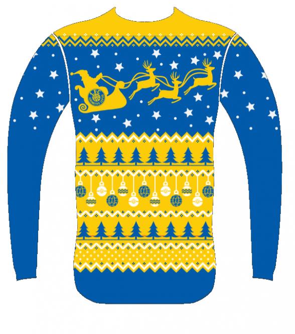 Weihnachtspullover 2019 XL