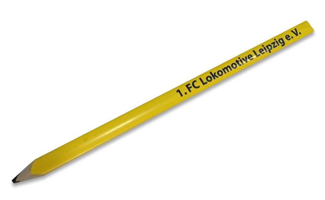 """Bleistift XL """"Zimmermann"""" gelb"""